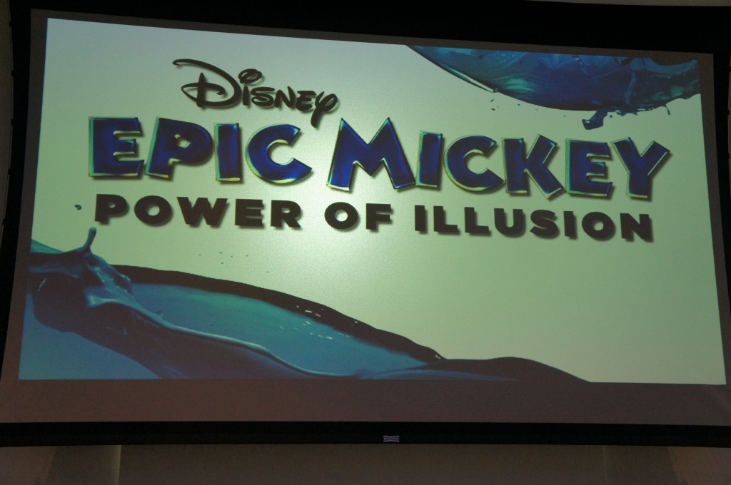 "First Look at the Disney ""Epic Mickey: Power of Illusion"" Video Game"