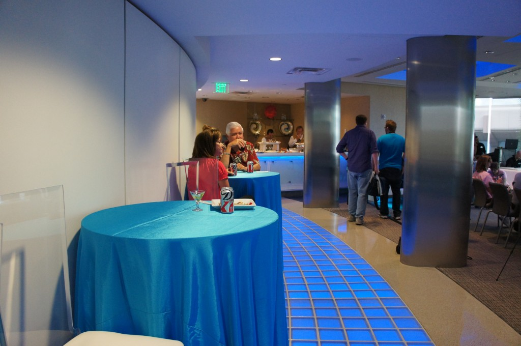 Siemens VIP Lounge Spaceship Earth Disney Base 21