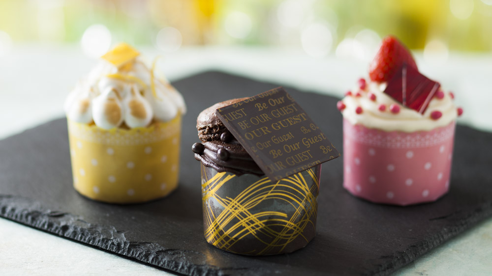 First Look – Disney's Be Our Guest Restaurant – Gourmet Cupcakes
