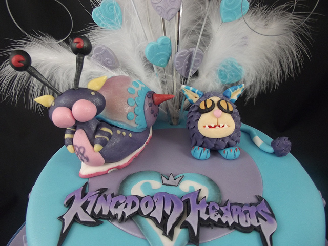 Disney Kingdom of Hearts Cake