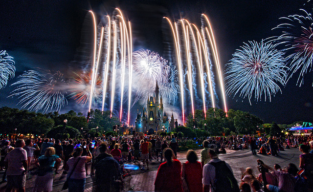 Hallowishes magic kingdom fireworks
