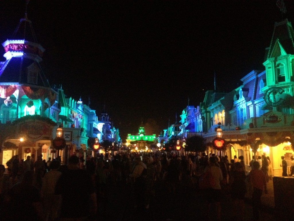 MNSSHP Main Street USA MAgic Kingdom Halloween