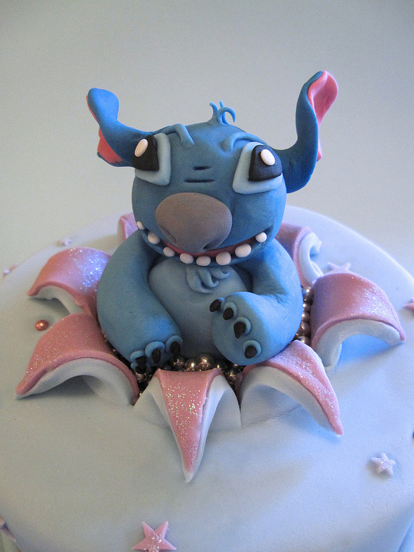 Naughty Stitch Busting Out Of A Disney Birthday Cake Disney Every Day