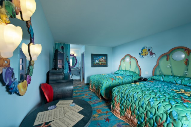 disney art of animation little mermaid room