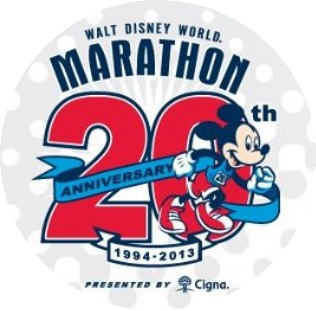 walt disney world 20th anniversary marathon 2013