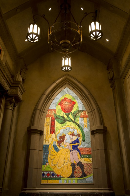 Disney Releases More Images from Inside Be Our Guest Restaurant in New Fantasyland