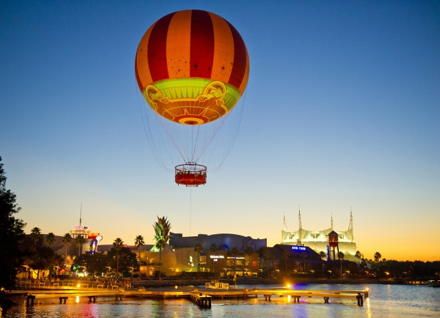 Catch a Glimpse of the All New Characters in Flight Balloon at Downtown Disney