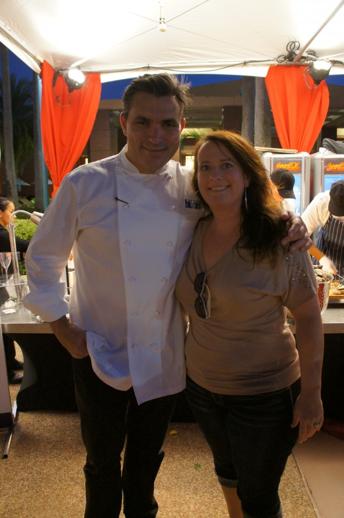 chef todd english amanda tinney disney swan dolphin food wine classic