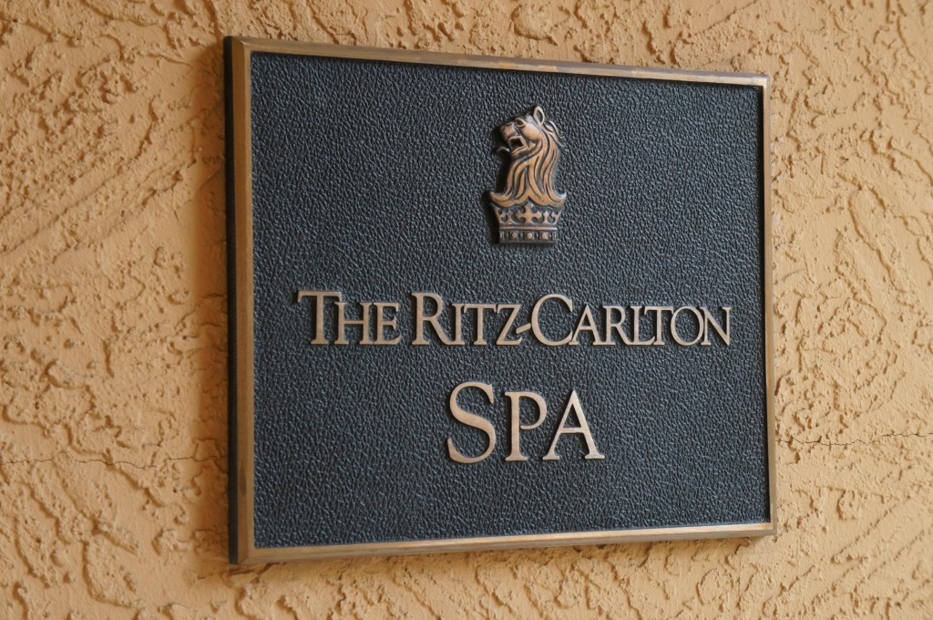 the ritz carlton spa orlando grande lakes