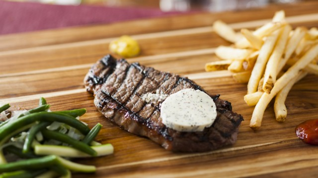 First Look – Disney's Be Our Guest Restaurant Grilled Strip Steak with Pommes Frites
