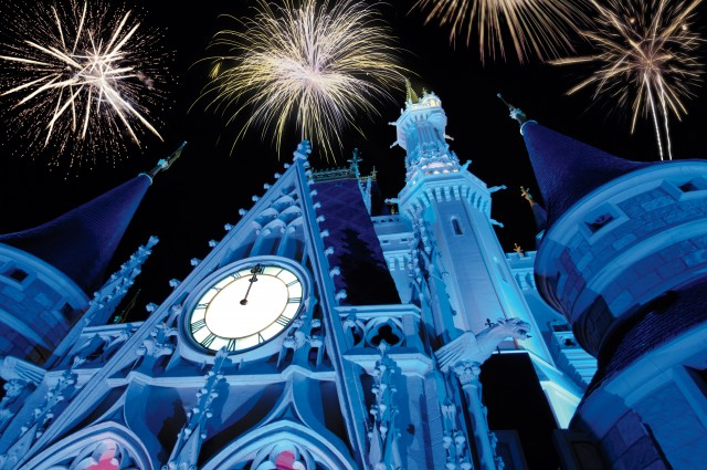 Disney new years eve magic kingdom