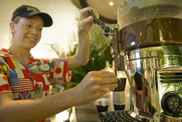 Gourmet Drinking Chocolate at the Epcot International Food and Wine Festival