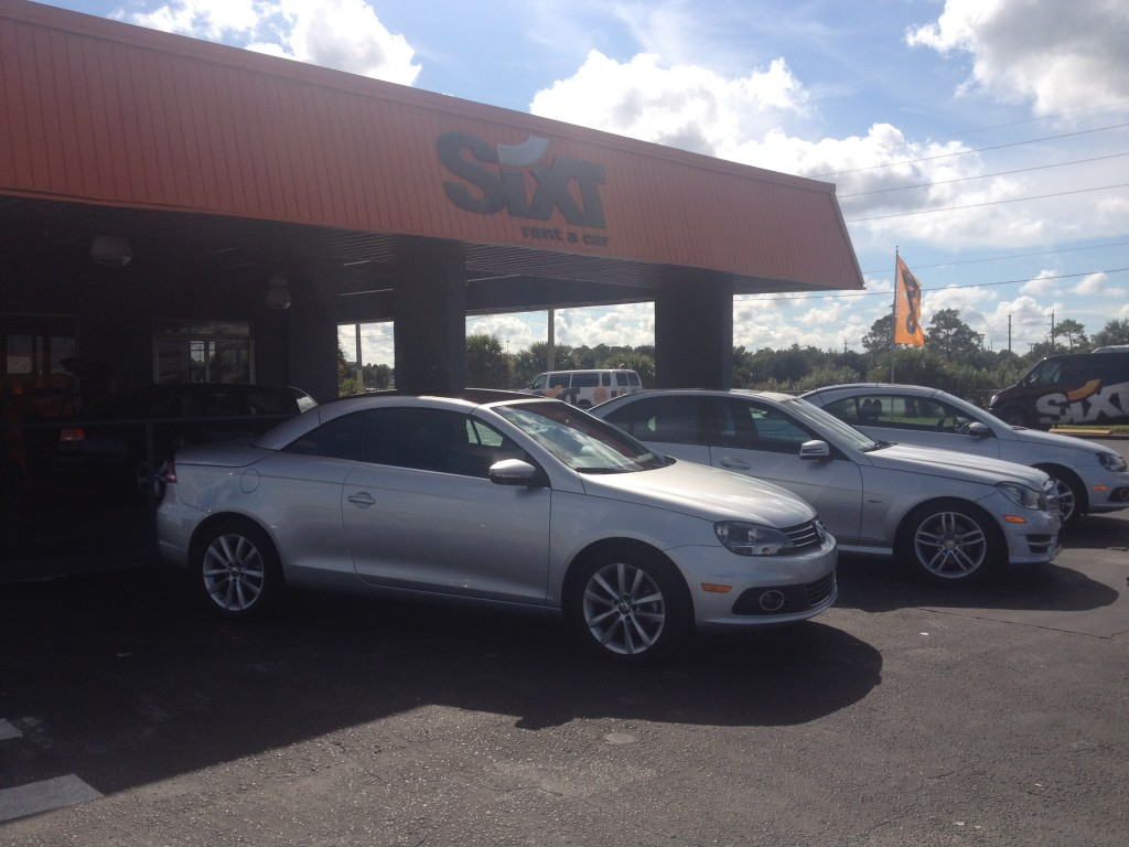 sixt car rental orlando international airport
