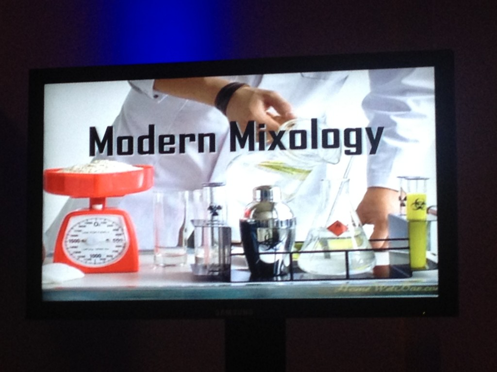 Modern Mixology swan and dolphin food and
