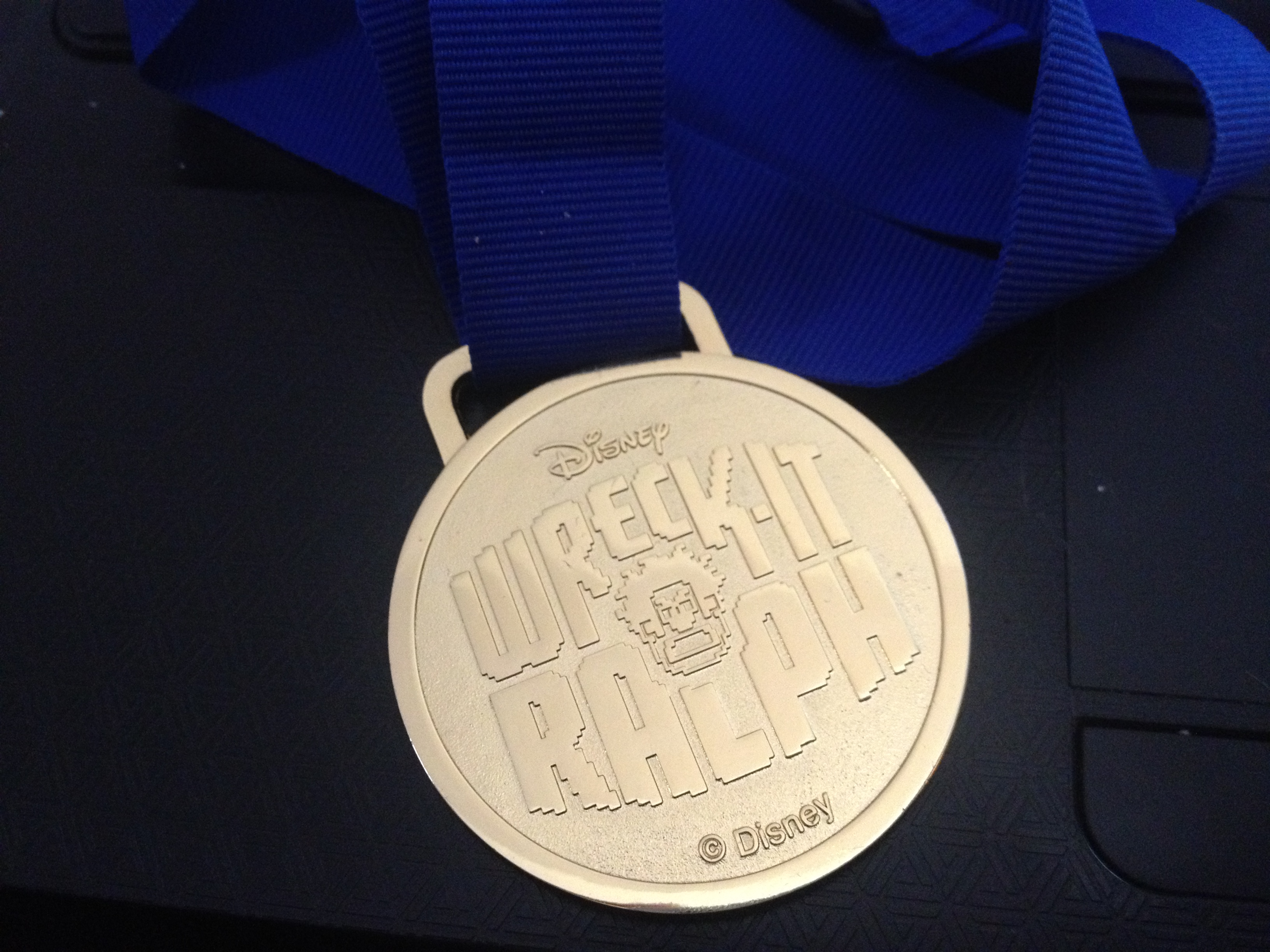 wreck it ralph disney parks blog meet up medal