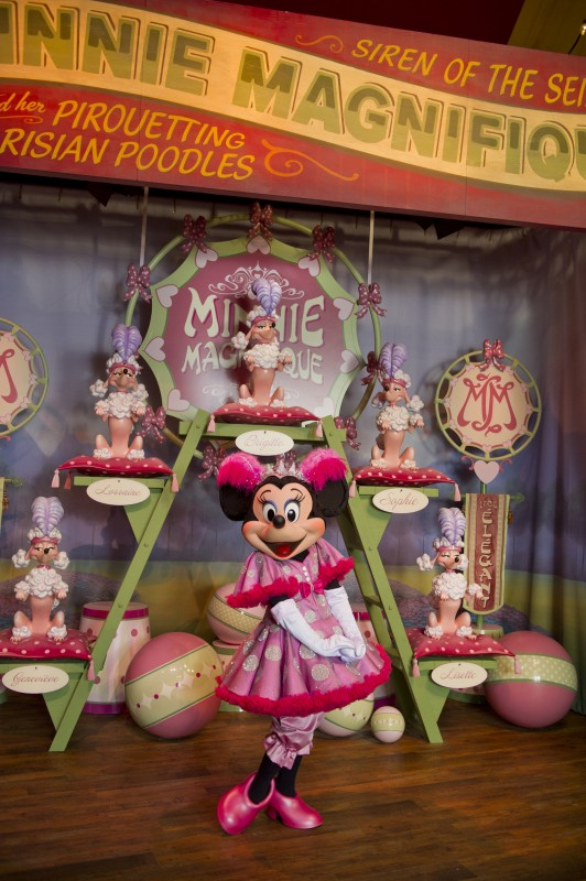Pete's Silly Sideshow new fantasyland Minnie Magnifique Mouse