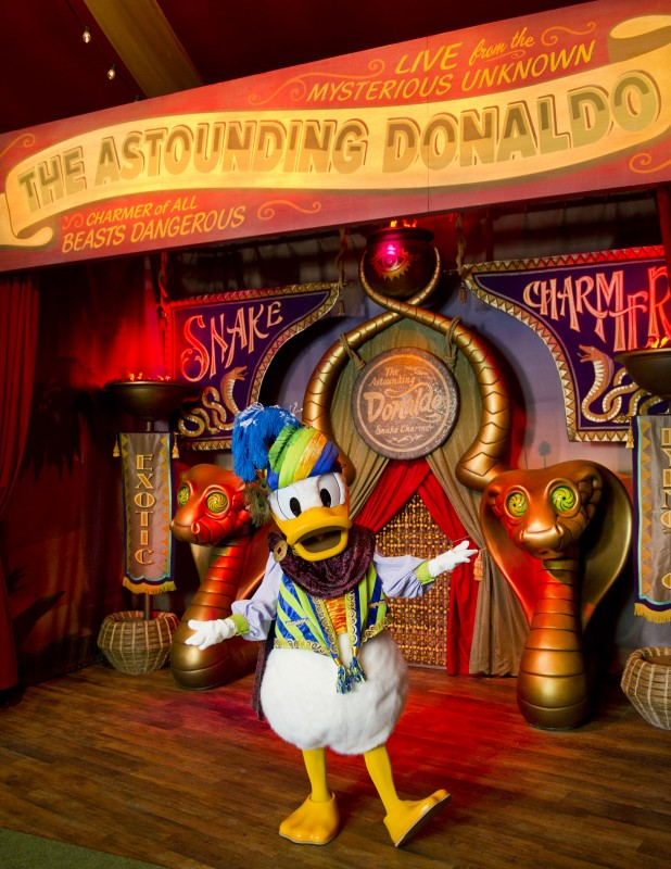 Pete's Silly Sideshow new fantasyland The astounding donaldo