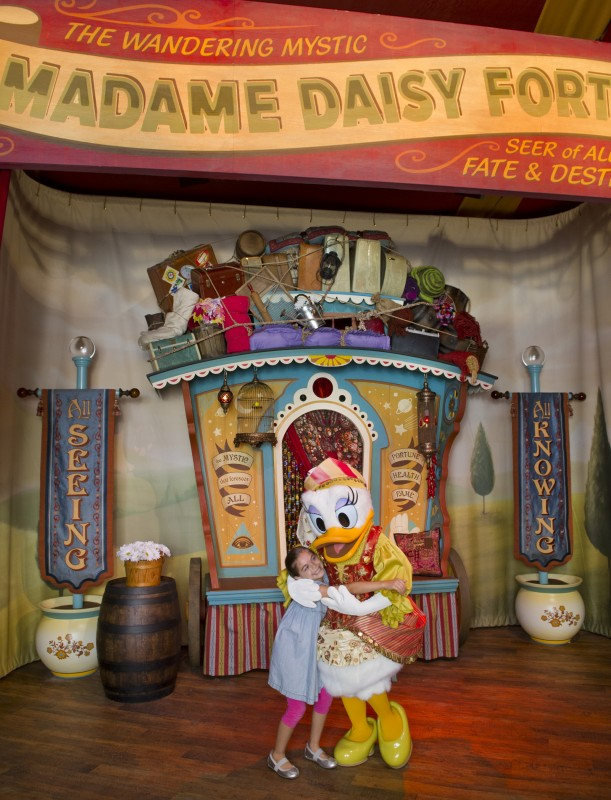 Pete's Silly Sideshow new fantasyland madame daisy fortuna