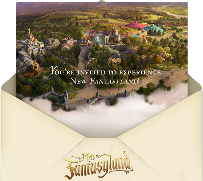 disney passholder preview invite fantasyland expansion