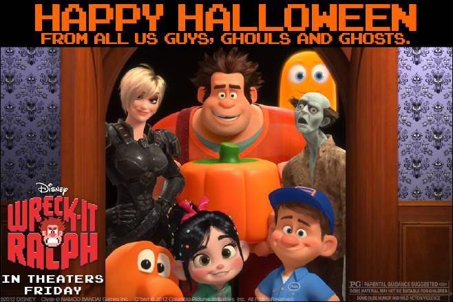 Wreck It Ralph and Haunted Mansion Collide This Halloween