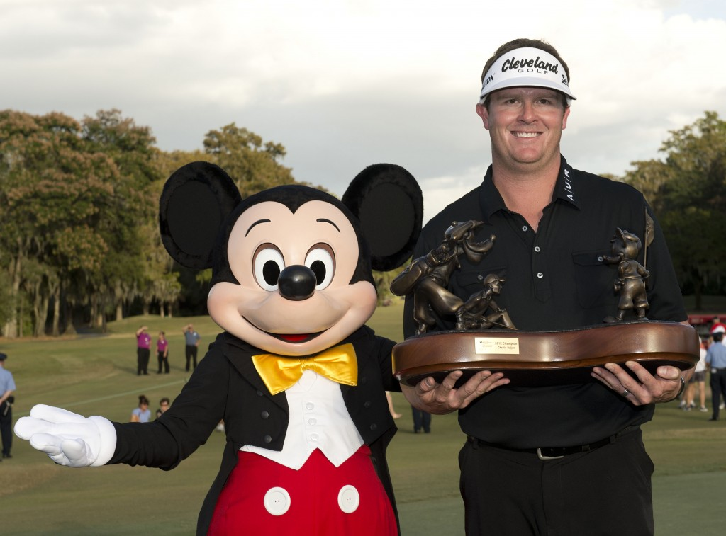 Charlie Beljan winner of the 2012 disney golf classic