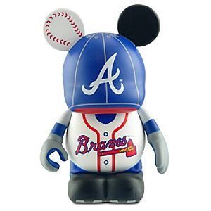 Atlanta Braves Disney Vinylmation