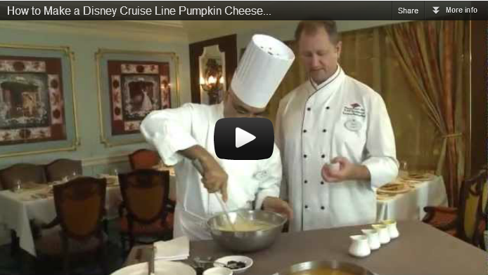 DCL Pumpkin Cheesecake