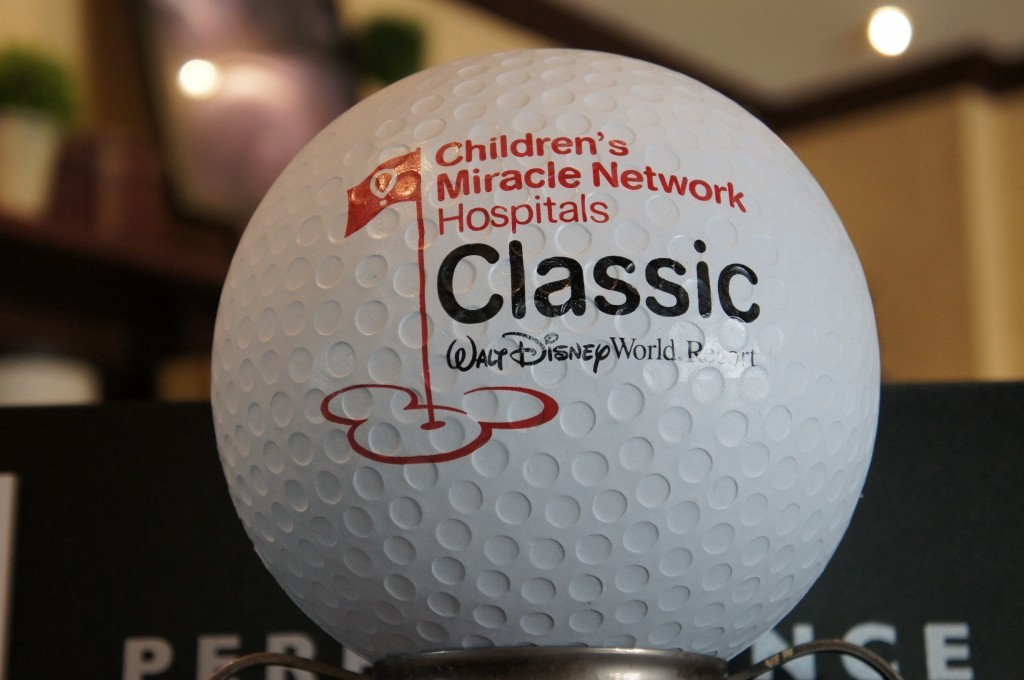 2012 disney childrens miracle network hospitals classic golf ball tournament
