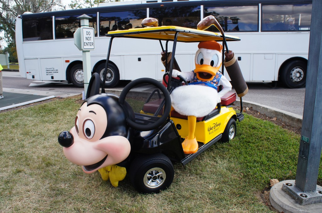 Mickey Mouse Golf Cart Donald Duck