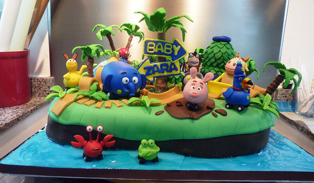 Disney Junior Jungle Junction Cake