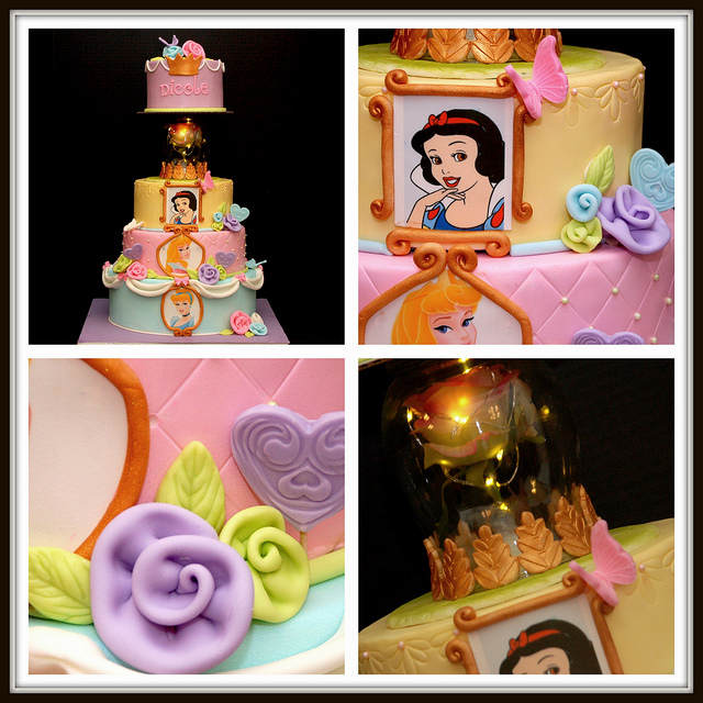 Disney Princess Layer Cake