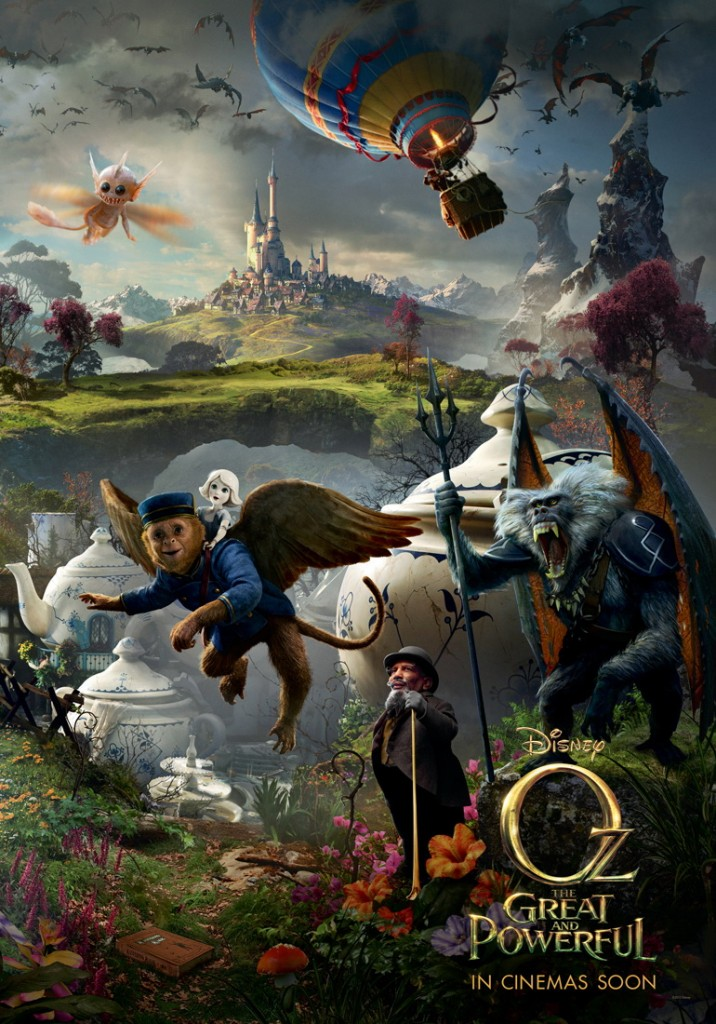 Oz the great and powerful disney movie poster