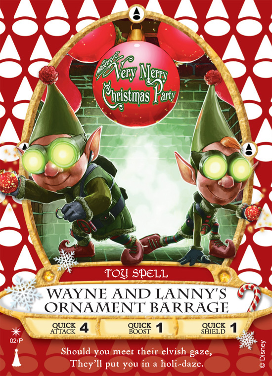 Limited Prep and Landing Sorcerers of the Magic Kingdom Card for Mickey's Very Merry Christmas Party