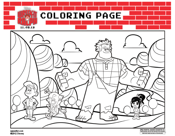 disney Wreck it Ralph coloring page - Disney Every Day