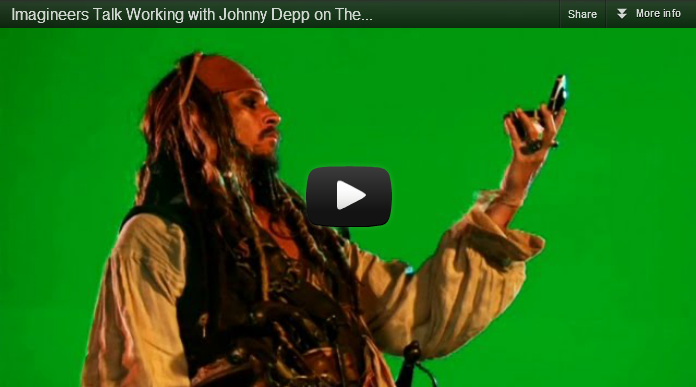 disney the legend of captain jack sparrow johnny depp