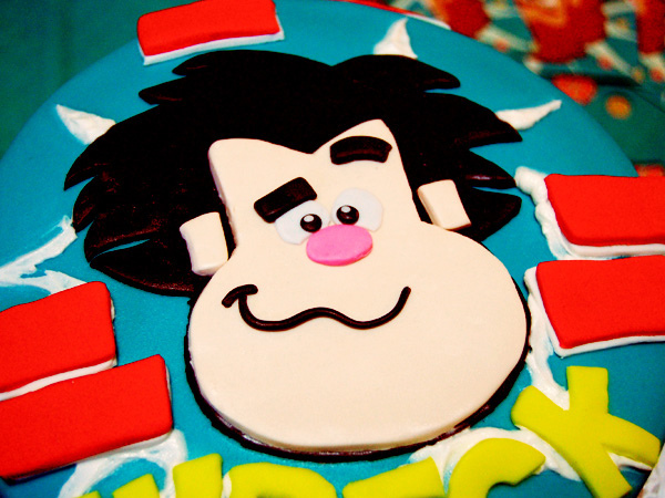 "Disney ""Wreck it Ralph"" Cake"