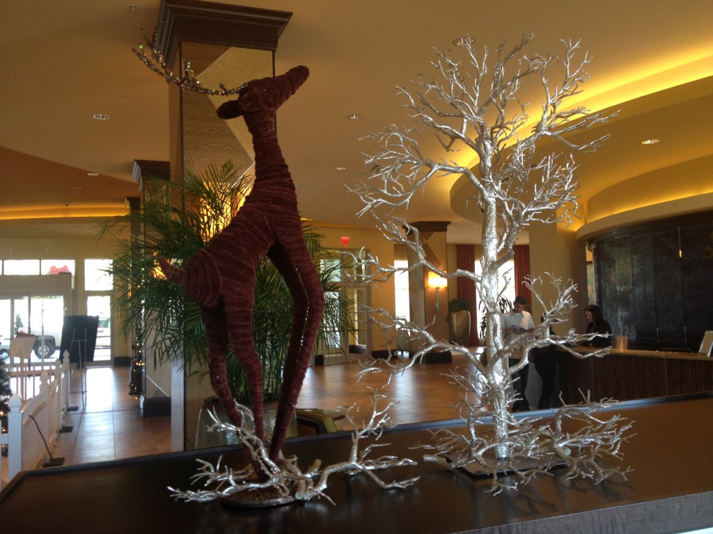 Disney Hilton Bonnet Creek Christmas Holiday