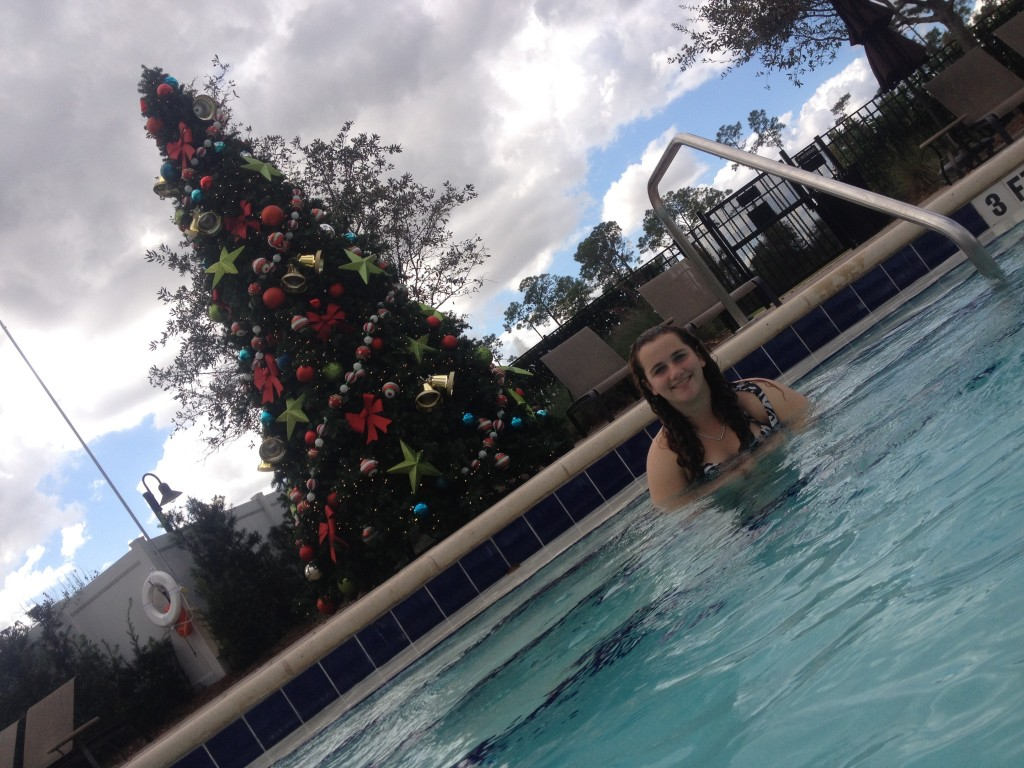 orlando hilton bonnet creek christmas holiday pool