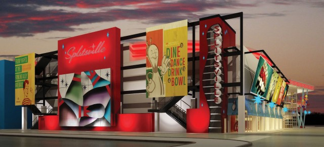 Splitsville Rendering Downtown disney