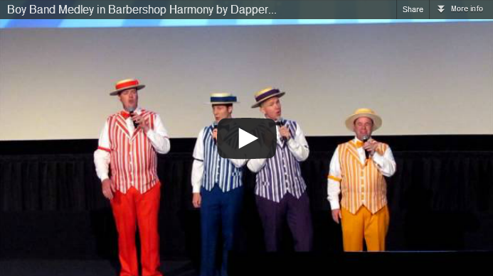 boy band medley dapper dans disney