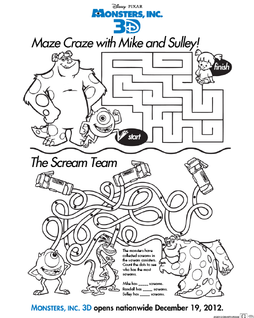 disney coloring pages activities - photo#4