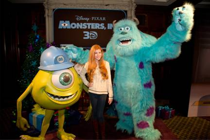 "Disney Channel Stars Turn Out for Disney's ""Monsters, Inc. 3D"" {In Theaters Today}"