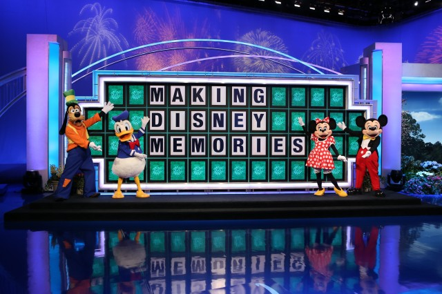 Disney Memories wheel of fortune
