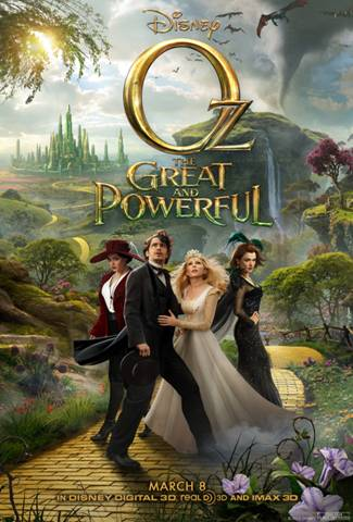 "Disney ""OZ The Great and Powerful"" Sweepstakes and Instant Win Game"