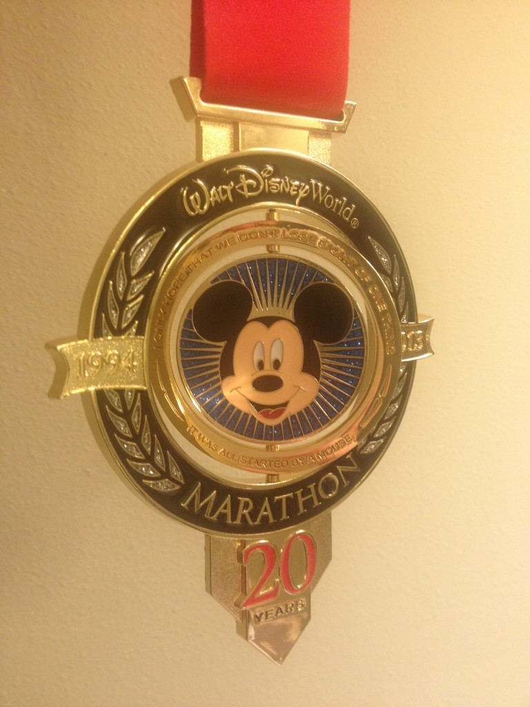 Celebrating 21 Miles – My Story of Struggle and Enlightenment in the 2013 Walt Disney World Marathon