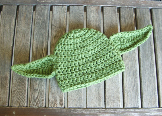 Knit Star Wars Infant Yoda Beanie Hat