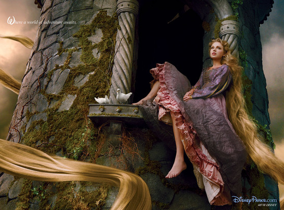 Taylor Swift Cast as Rapunzel by Disney and Annie Leibovitz