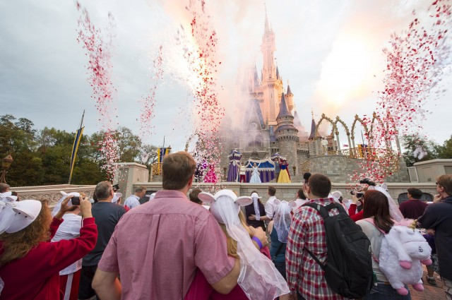 50 Couples Renew Their Love at the Magic Kingdom for Valentine's Day