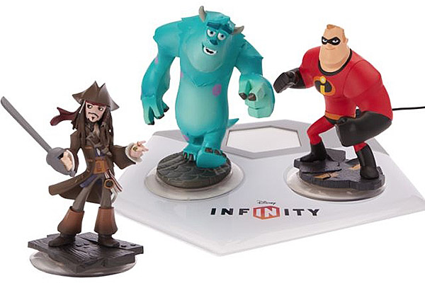 Disney Infinity is an all-new gaming platform that combines Disney's most popular franchises with one of today's hottest trends in toys – interactive figures that come to life in video games. Players can place real-world toy versions of their favorite Disney characters onto a device called the Infinity Base and transport them into the virtual game worlds of Monsters University, the Incredibles and Pirates of the Caribbean, as well as into a giant Toy Box where they can create their own Disney experiences.