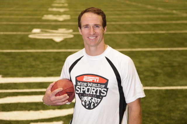 Drew Brees Passing Academy Coming to Disney This Summer